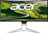 Acer Predator XR382CQK 95cm (37,5 Zoll Ultrawide QHD) Curved IPS Monitor (HDMI 2.0, HDMI, DisplayPort, USB Type-C, 5ms Reaktionszeit, Höhenverstellbar, AMD FreeSync) silber