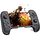 Android Controller, BEBONCOOL SAITAKE Mobile Controller für iPhone, Wireless Gamepad Handy Controller für Android/IOS, Wireless Controller für PUBG Mobile/Arena of Valor/Knives Out