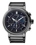 CITIZEN Herren Chronograph Solar Uhr mit Edelstahl Armband BZ1006-82E