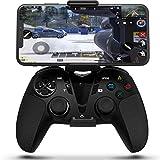 DarkWalker PS4 Dual Vibration Wireless Controller, Call of Duty Mobile Handy Controller für iOS 13 oder höher/Mac OS Catalina/Android OS 10 oder höher/PC/PlayStation 4 MFI-Spiele Unterstützen