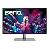 BenQ PD3220U 80,01 cm (31,5 Zoll) Monitor (4K UHD 3840 x 2160, 95% DCI-P3, 100% sRGB, Thunderbolt 3) schwarz