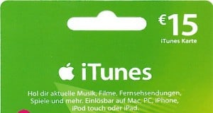 iTunes Rabatt November 2013