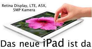 neues iPad 3