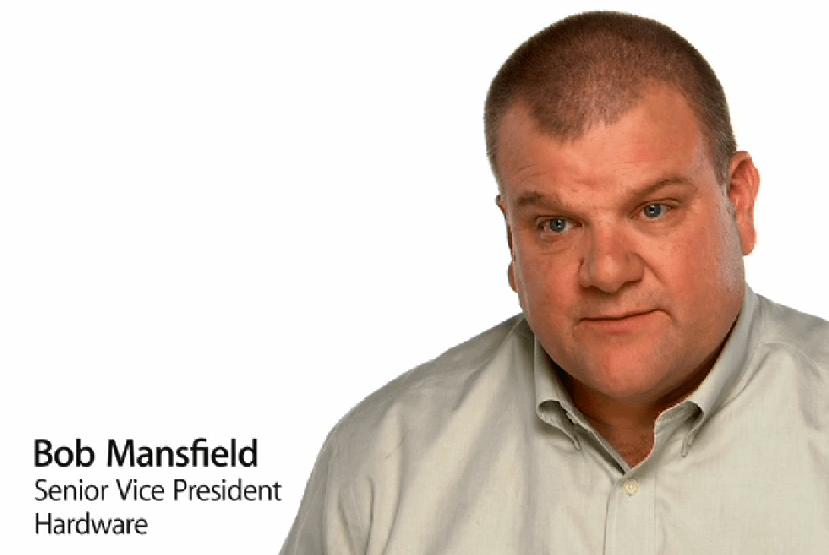 Bob Mansfield erhält monatlich 2 Millionen Dollar um bei Apple zu bleiben