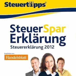 Steuer-Spar-Erklärung 2013 mac