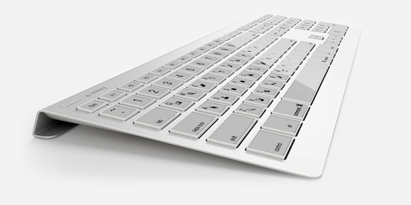 Tastatur e-ink
