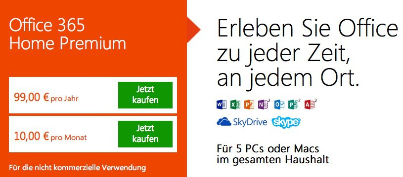 Office 365 für Mac