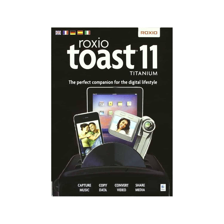 Konvertieren und brennen auf dem Mac mit Roxio Toast 11 Titanium