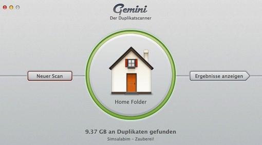 Germini im Mac App Store