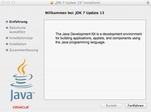 Java Sicherheitsupdate Mac