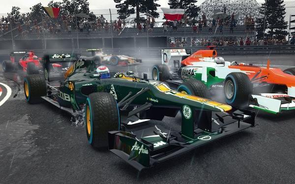F1 2012 Mac - Autorennen