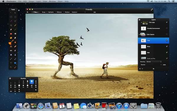 Pixelmator Mac App Store