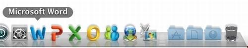 Office 2011 Mac Dock