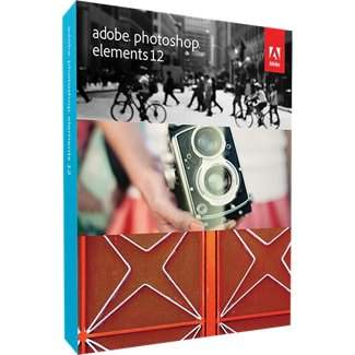 Photoshop Elements 12 Mac Cover