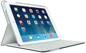 iPad Air in Surface verwandeln mit dem Logitech FabricSkin Keyboard Folio