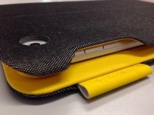 FabricSkin KeyBoard Folio Ecke