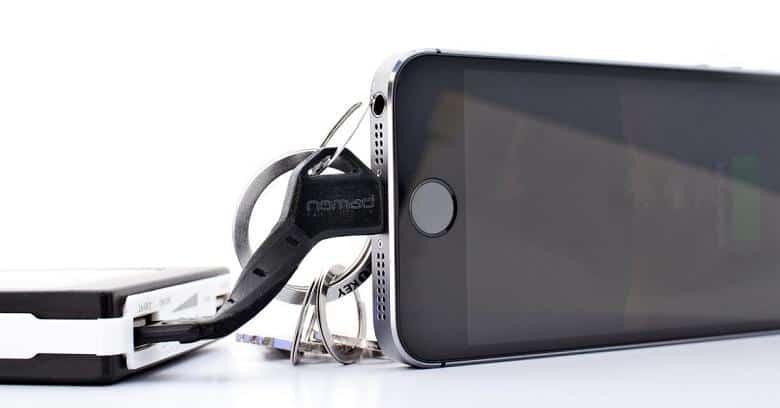 Chargekey läd iPhone 5