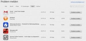 Mac App Store Geld zurück