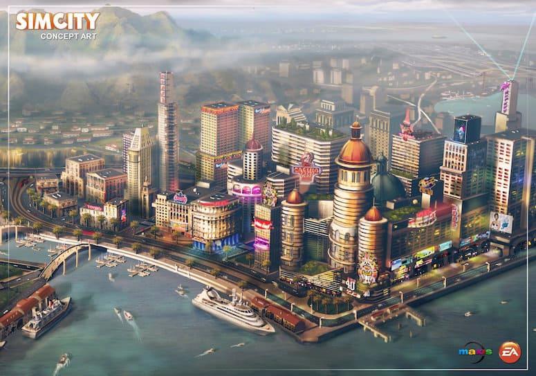 Sim City Mac Sreenshot
