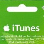 iTunes Rabatt November 2014 – Gutscheinkarten