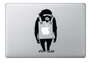 Macbook Sticker Affe