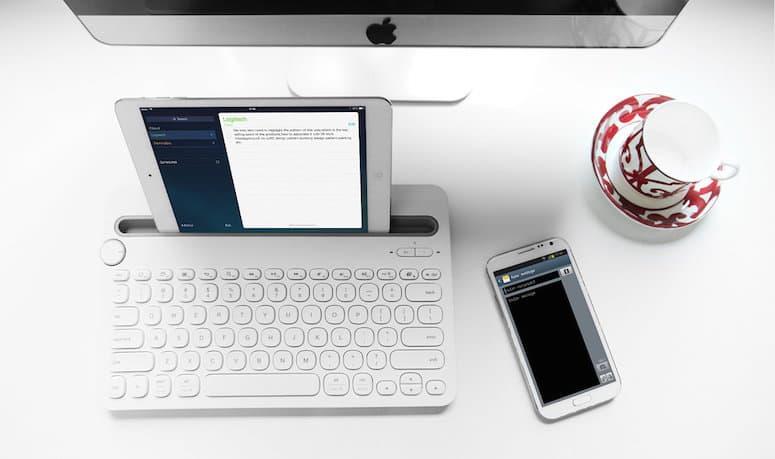 K480 Tastatur Mac iPad iPhone