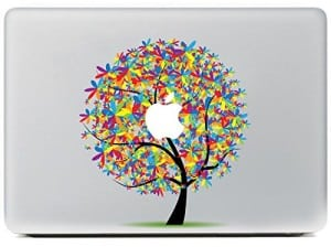MacBook Sticker Apfelbaum
