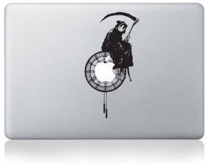 MacBook Sticker Sensenmann
