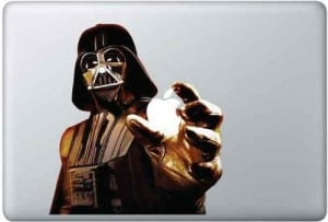 Starwars Vynil Aufkleber MacBook