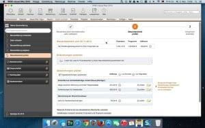 WISO Steuer Mac 2015 erledigen