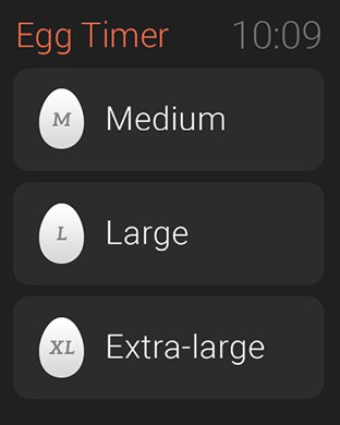 Boiled Egg Timer Apple Watch