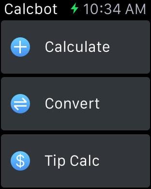 Calcbot Apple Watch Taschenrechner