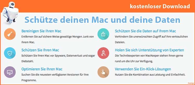 Mac und Daten schützen