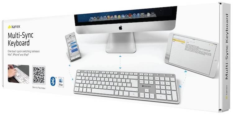 Bluetooth Tastatur an mehrere Geräte anschließen
