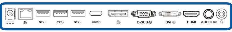 Philips 258b6queb Anschlüsse