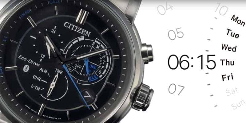 citizen bluetooth Uhr App