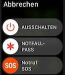 iOS 10.2 bring Notfall Funktion