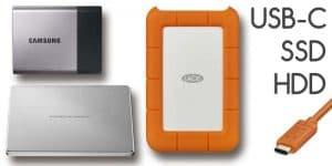 USB-C Festplatten