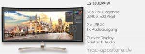 USB-C Monitor LG 38UC99-W