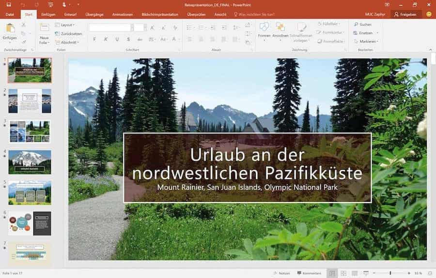 PowerPoint Mac 2016