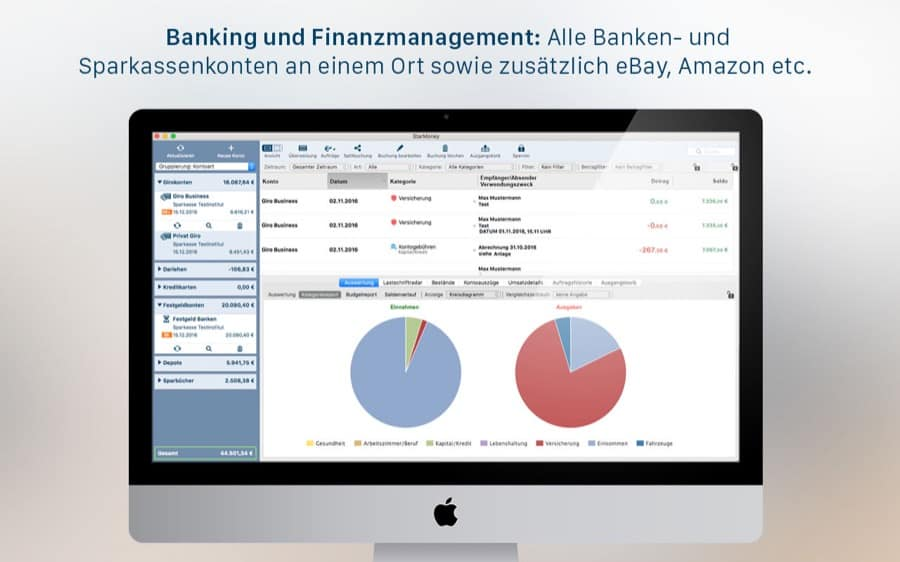 übersicht Aller Bankprogramme Für Macos Mac Appstore De