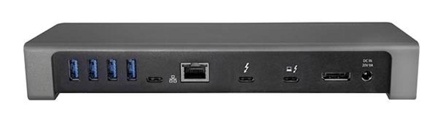 StarTech TB3DOCK2DPPU Thunderbolt 3 Dock Mac