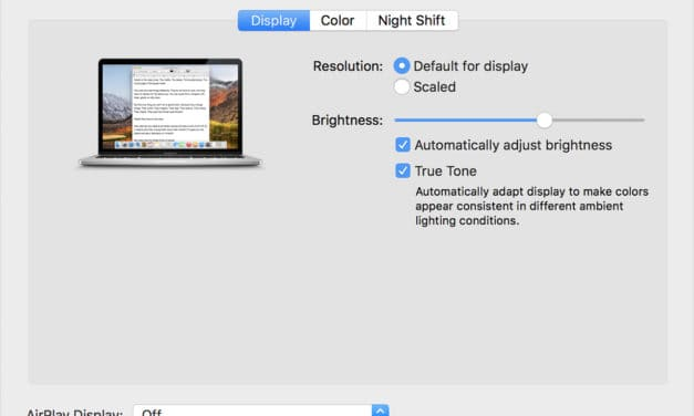 Neues MacBook Pro bringt True Tone auf den externen Bildschirm