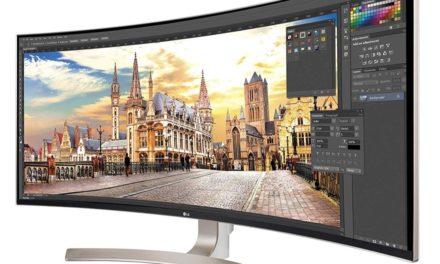 LG 34UC99-W – USB-C Monitor für MacBook und iPad pro