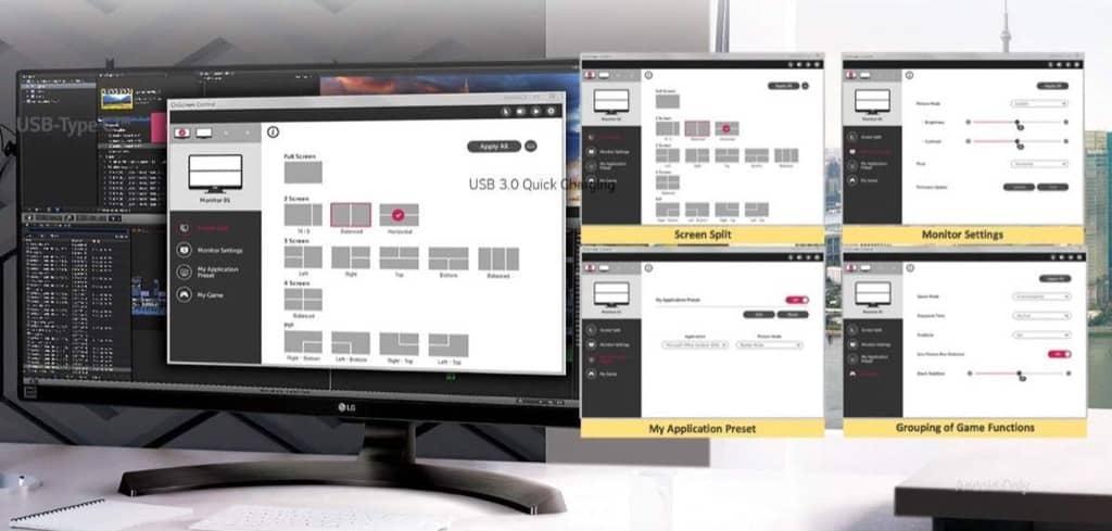 USB-C Minitor iPad Pro