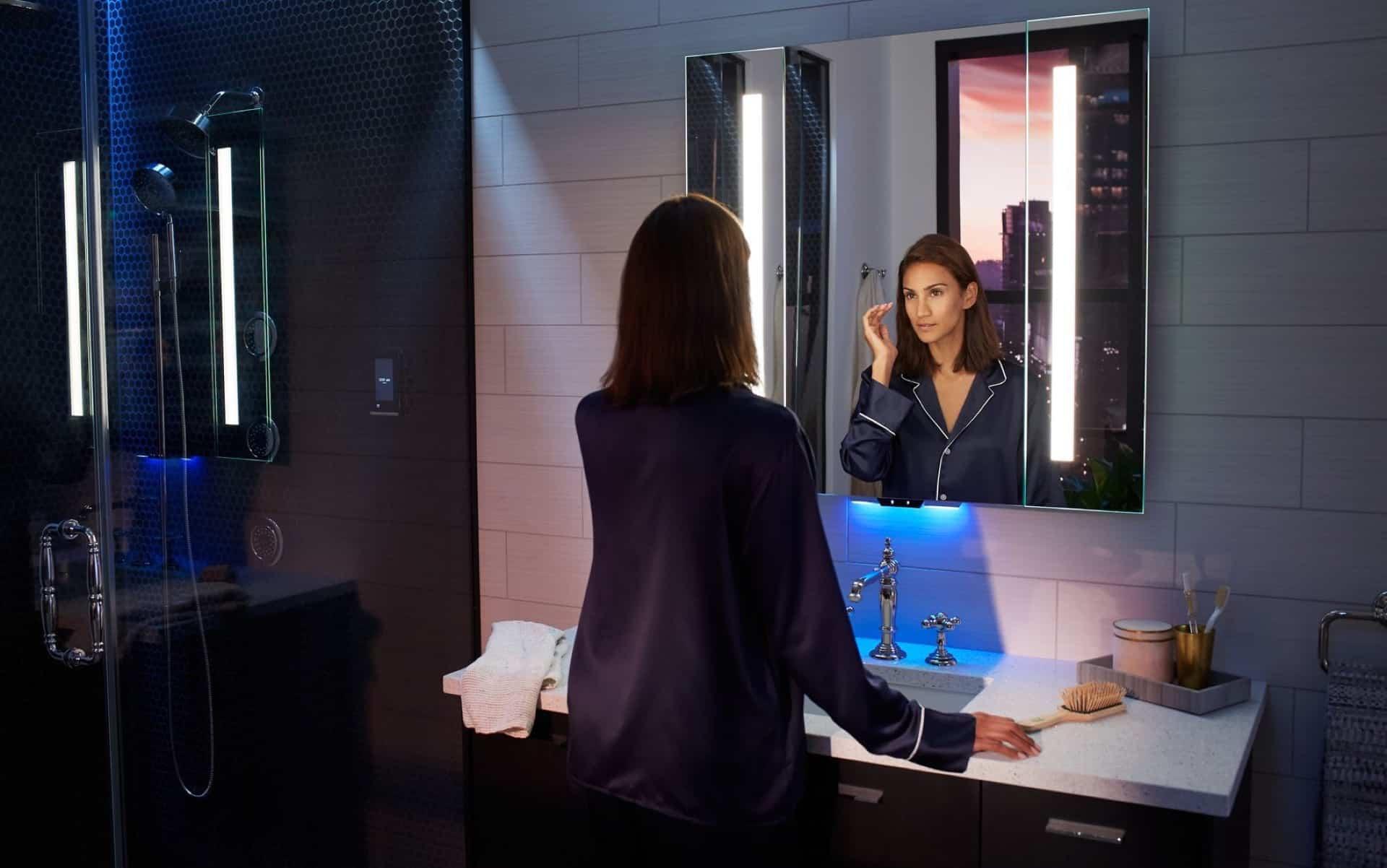 SmartHome Spiegel Alexa
