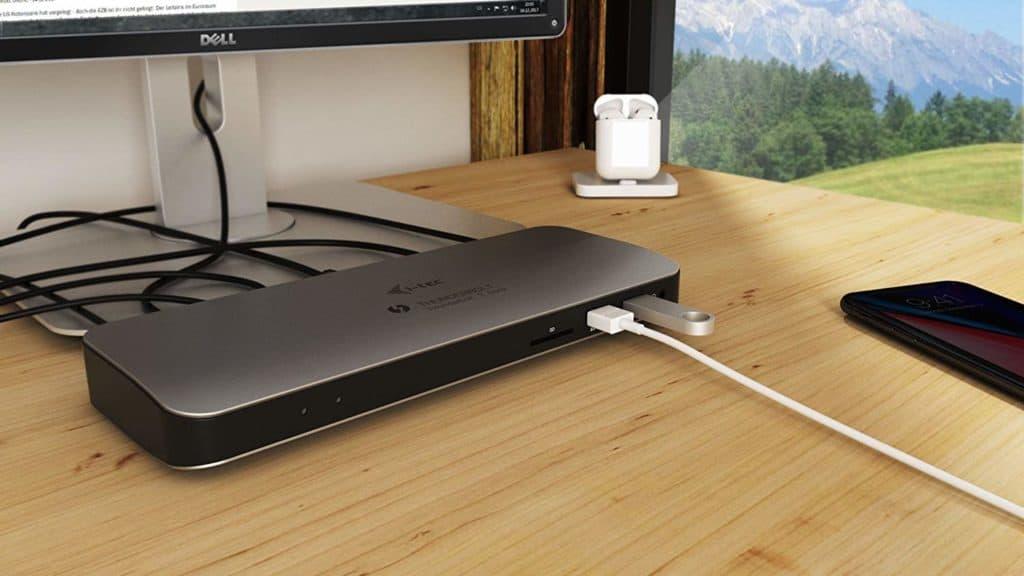i tec thunderbolt 3 dockingstation gut und g nstig mac. Black Bedroom Furniture Sets. Home Design Ideas