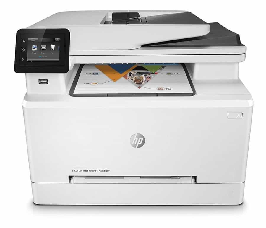 HP Color LaserJet Pro M281fdw Airprint